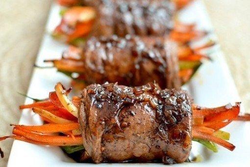 Роллы из мяса рецепты