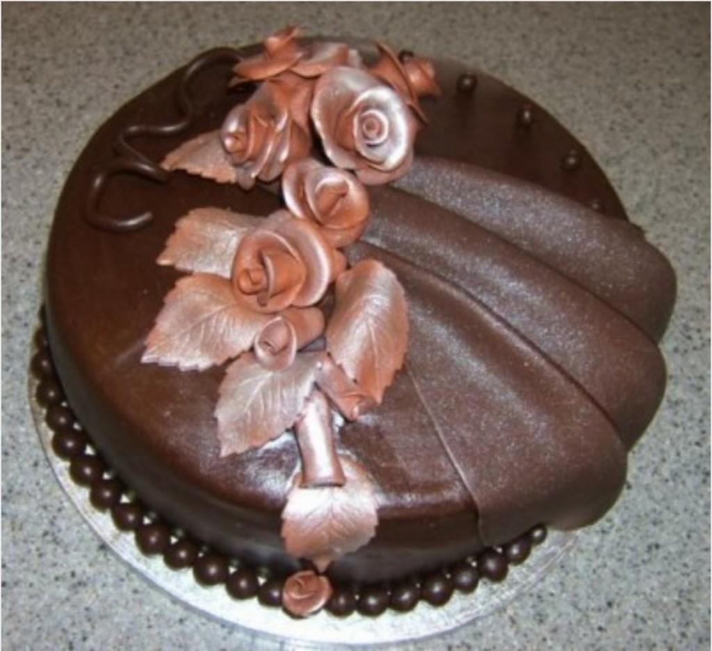 Как сделать шоколадную мастику для торта
