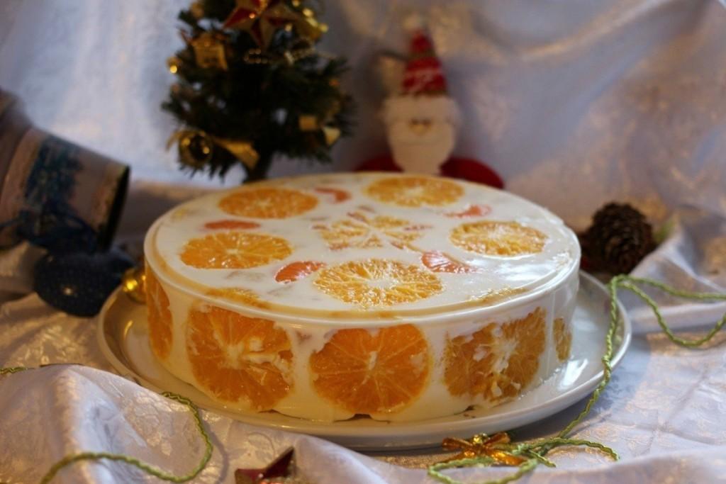 Торты без выпечки рецепты с фото желейные