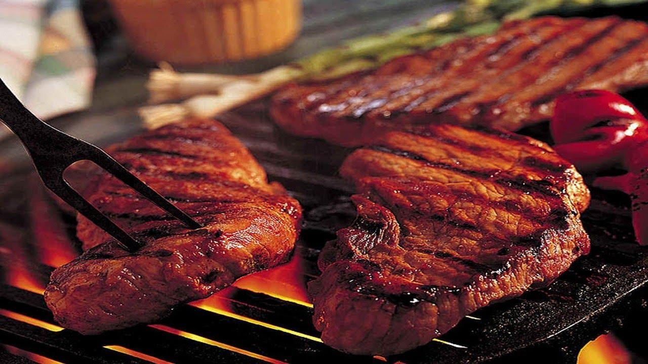 Как сделать стейк на углях
