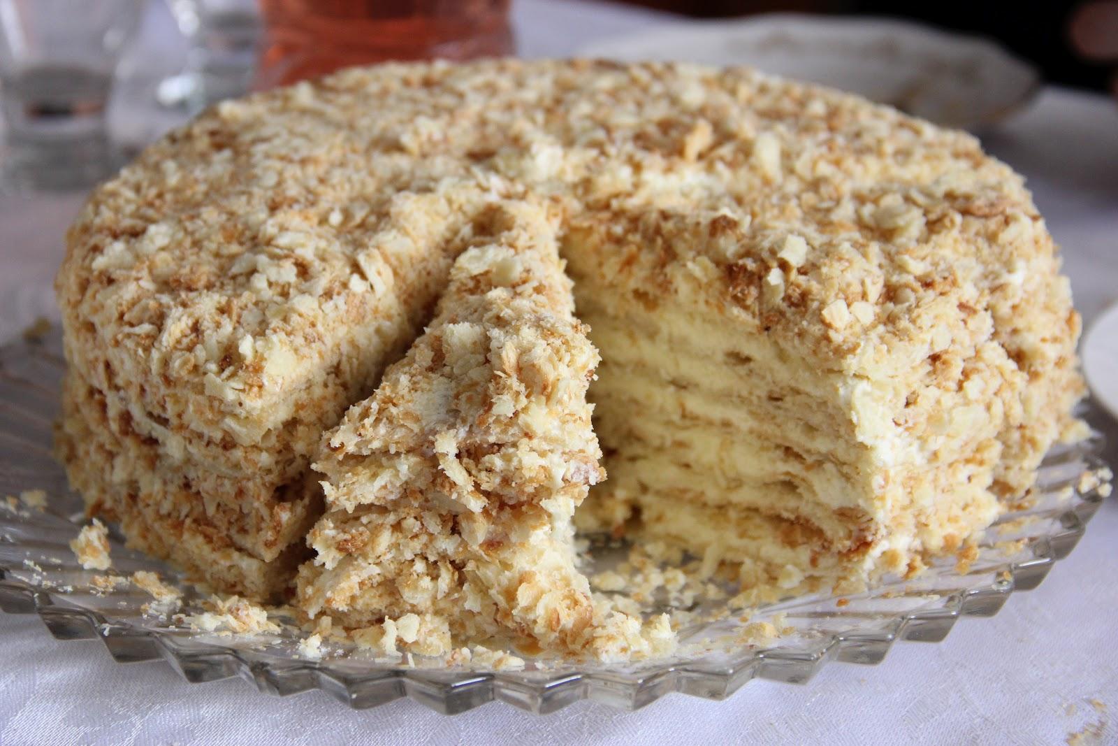 рецепт торта без выпечки с фото