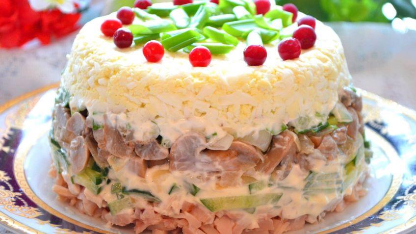 салаты простые салаты рецепт с фото пошагово