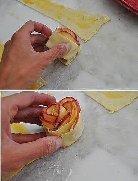 Рецепт как сделать розочки 752
