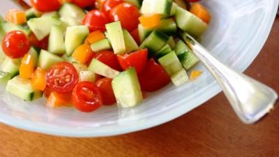 из овощей