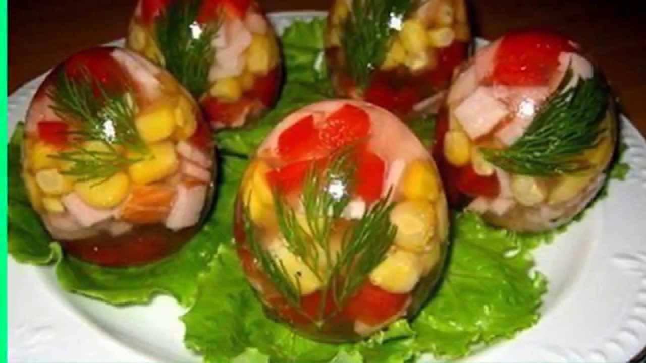 Рецепты заливные яйца с фото