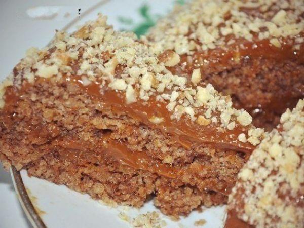 ореховый торт без выпечки рецепт пошаговое фото