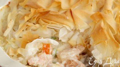 Рагу из лосося рецепт