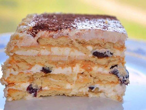Печенье из печенья без выпечки
