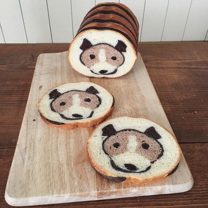 Хлеб с рисунком 2