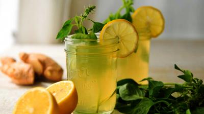 Имбирный-лимонад