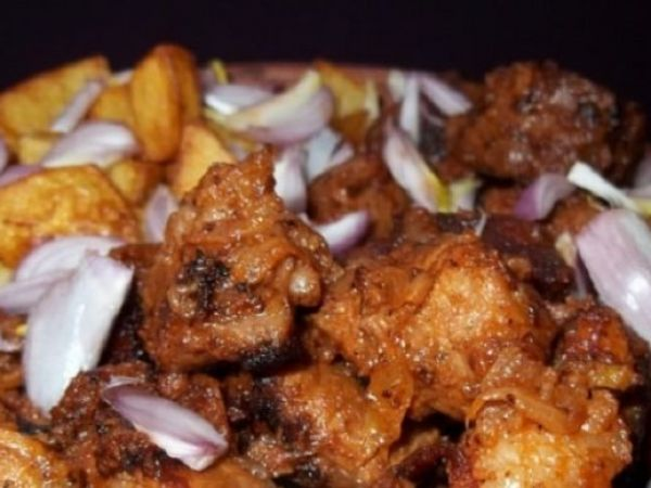 Татарское блюдо из рыбы