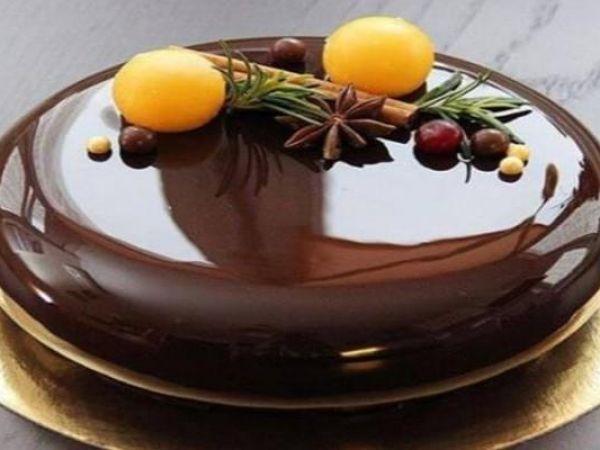 шоколадная заливка для торта