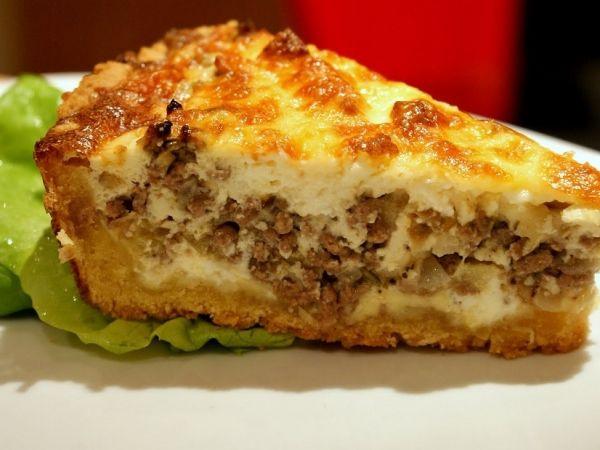 Мясной пирог в духовке рецепт с с фаршем