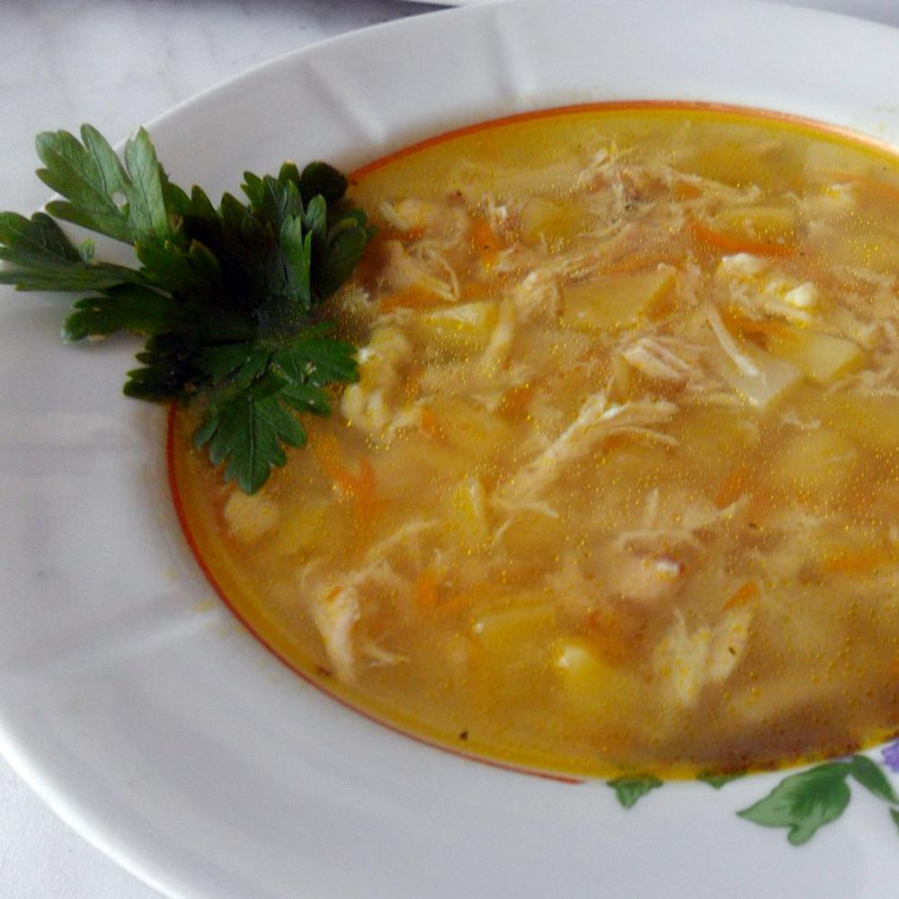 Суп с клецками и свининой пошаговый рецепт
