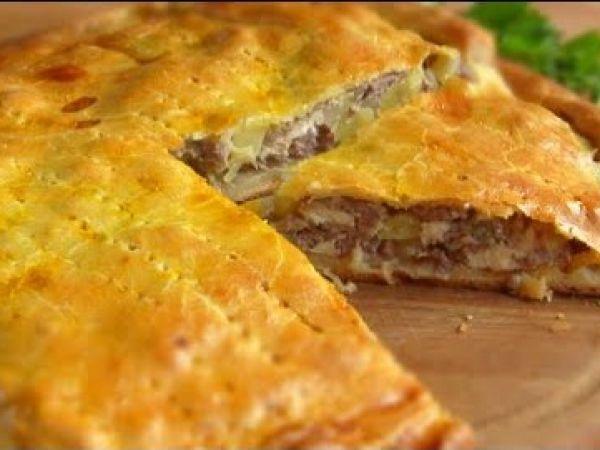 рецепт пирог картофельный на кефире